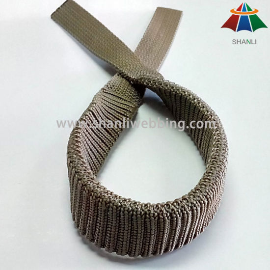 High Quality Jacquard Elastic Bungee Nylon Webbing for Safety