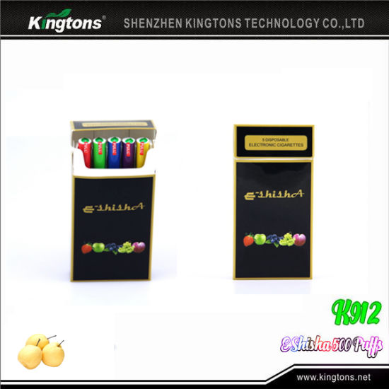 Accept Paypal 500 Puffs Kingtons K912 Electronic Cigarette Price pictures & photos