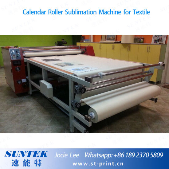 Calendar Rotary Heat Press Sublimation Machine for T-Shirt, Textile pictures & photos