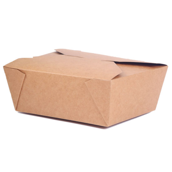 Disposable Printing Foldable Take Away Chinese Food Packing Box, Food  Packaging Box, Free Samples