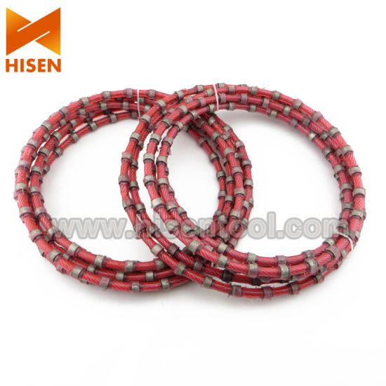 Diamond Wire Saw for Granite Block Cutting pictures & photos