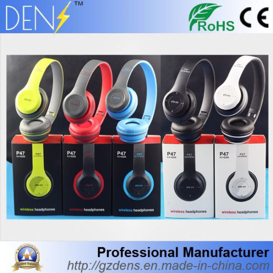 e1b02c4e3744d8 V4.1 P47 Wireless Bluetooth Headphone/Headset Earphone pictures & photos