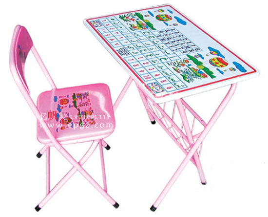 "Popular School Furniture New Design Kid""S Desk & Chair"