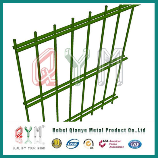 China Ornamental Powder Coated Double Loop Garden Wire Mesh Fence ...