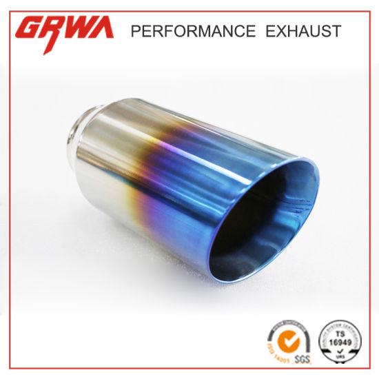 China Angle Cut Titanium Exhaust Muffler Tips - China Stainless