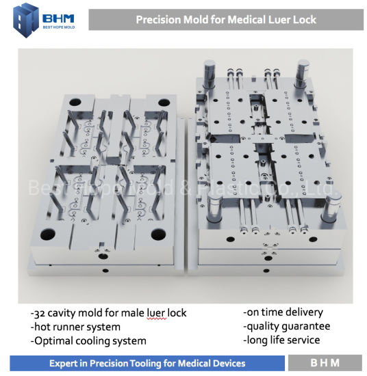 China Rotating Luer Lock Injection Mold with Best Price - China