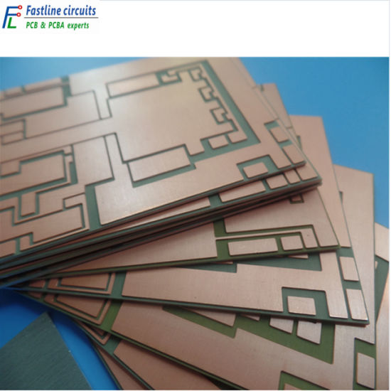 High Frequency PCB Microwave PC Board RO4350b Mixed Fr-4 Hybrid Material Appliedin Multiplexer
