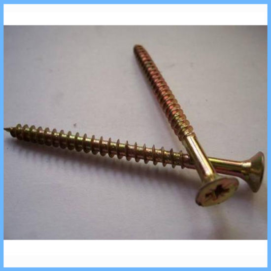 Pozi Drive Flat Head Chipboard Screw pictures & photos