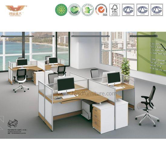 China Modern Office Furniture Workstation Cubicles Desk Office Unique Modern Office Furniture Systems