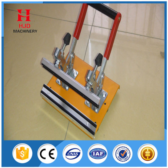 Factory Manufacturer Cheap High Strong Hand Silk Screen Stretching Machine pictures & photos