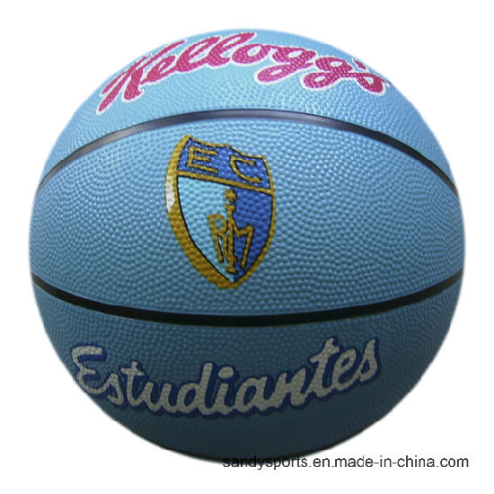 Custom Logo Size 5 Rubber Basketball pictures & photos