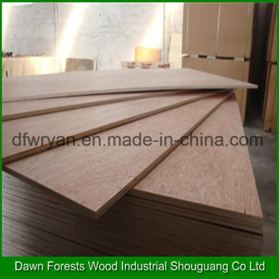 Good Quality 3mm 6mm Bintangor Plywood pictures & photos