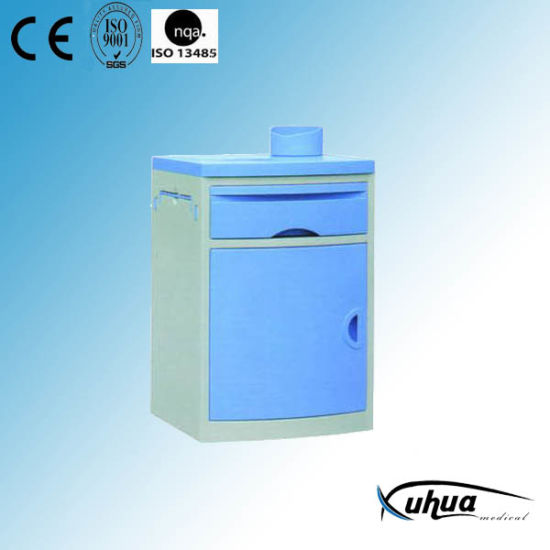 New Design Hospital Plastic Bedside Locker Cabinet (K-1) pictures & photos