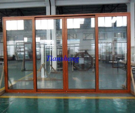 Thermal Break Sliding Doors pictures & photos