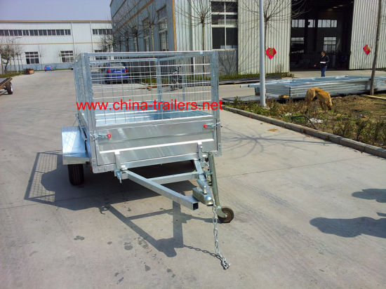Strong Box Trailer with Cage Tr0303