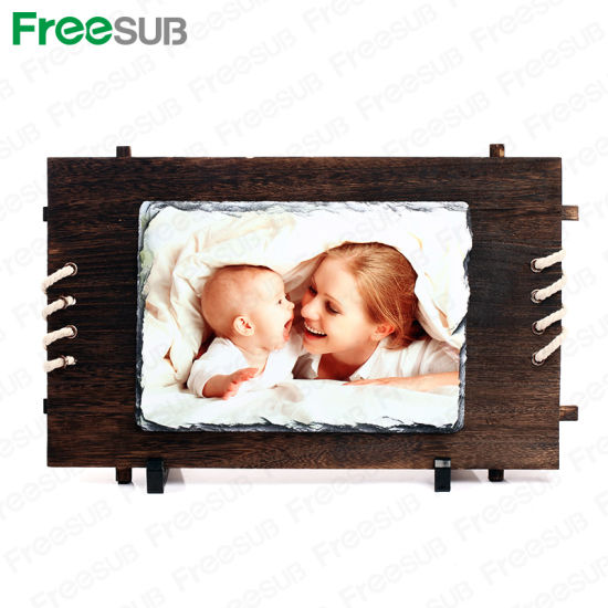 Sublimation Blank Rock Slate Photo pictures & photos