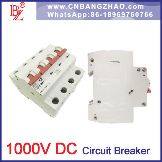 China 300-1000V DC Changeover Switch 1/2/3/4 Pole Mini Circuit ...