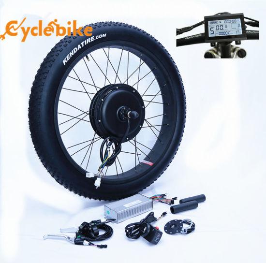 """48V 1000W 26/"""" Fat Tire Rear Wheel Electric Bicycle E-bike Kit Conversion Motor"""