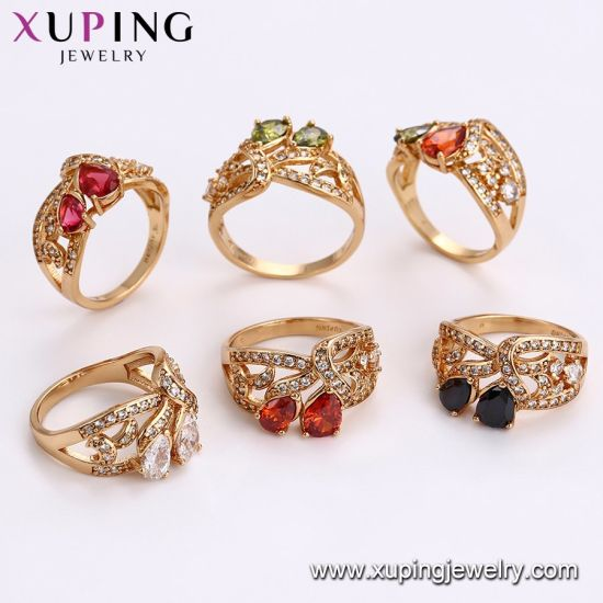 11728 Fashion Jewelry Unique Cubic Zircon Lady′s Ring pictures & photos