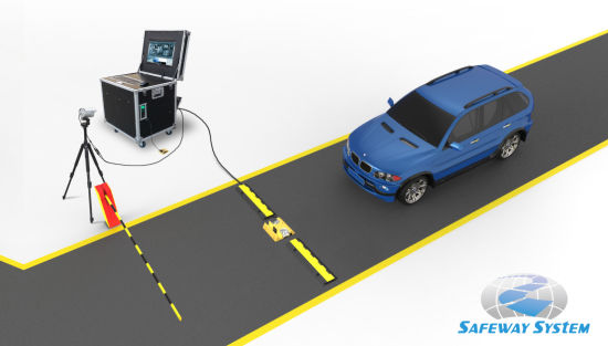 Uvss Uvis Under Car Inspection System for Anti-Terrorism Purpose At3000