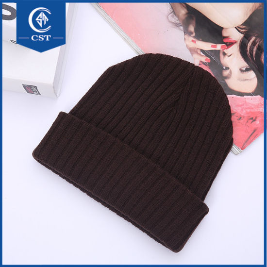 39984e44242 China Colorful Hip Hop Beanie Knitted Custom Beanie Winter Hats ...