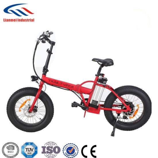 750W Electric Foldable Bicycles 20inch pictures & photos