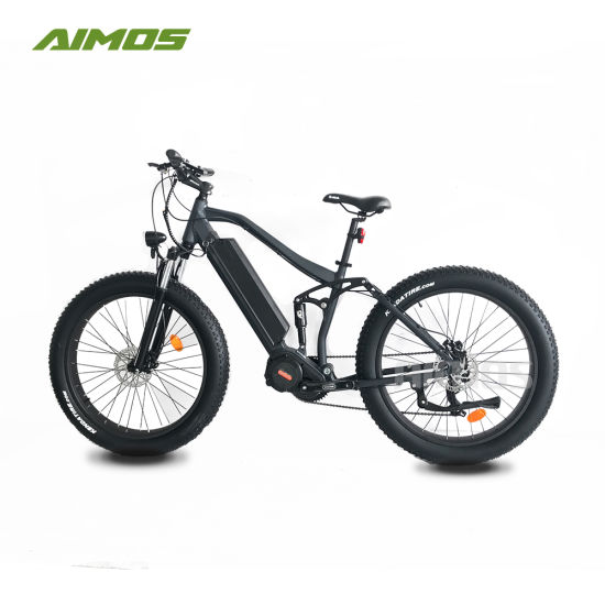 26inch Centre Motor OEM Dirt Electric Bicycle with Full Suspension pictures & photos