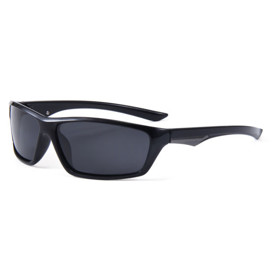 Best Selling Sports Sun Shades Plastic Sunglasses for Cycling Running