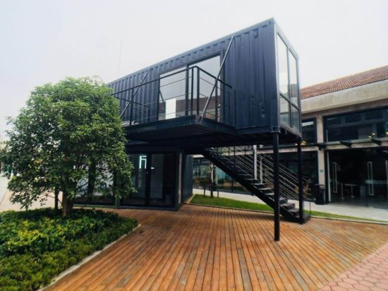 Professional Customized Luxury 20FT Modified Shipping Container House for Office