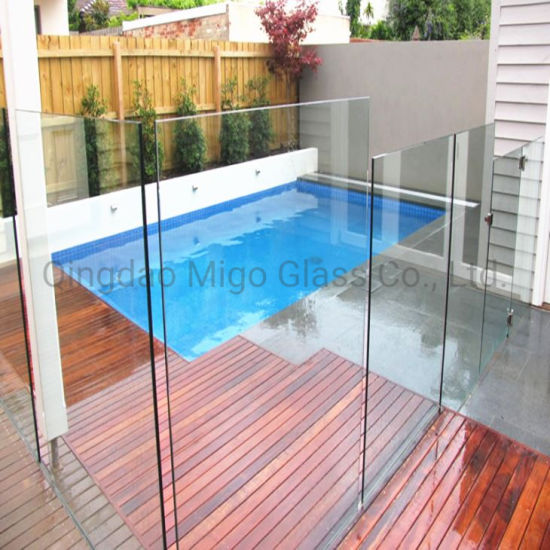 China 12mm Toughended Tempered Swimming Pool Glass Fence Glass Railing Glass Balustrade For Sale China Tempered Glass Pool Fence Glass Pool Fencing