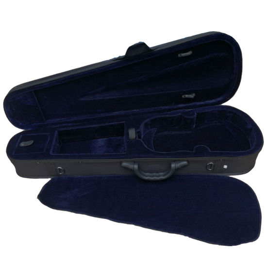 Deluxe Colourful Triangle Shaped Violin Foam Hard Case with Ykk Zip