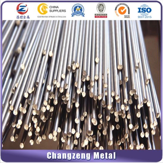 Polish Stainless Steel Round Bar for Decoration (SS304, 201, 316) pictures & photos
