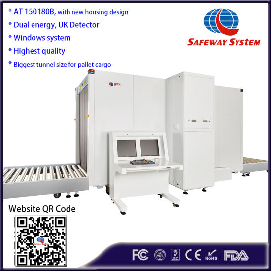 China X-ray Machine Air Cargo Pallet Container X Ray Scanner