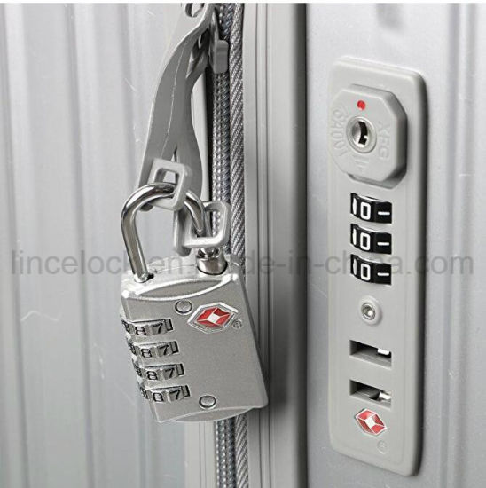 ed532b22cb83 China Tsa Luggage Locks (2 Pack) - 4 Digit Combination Steel ...