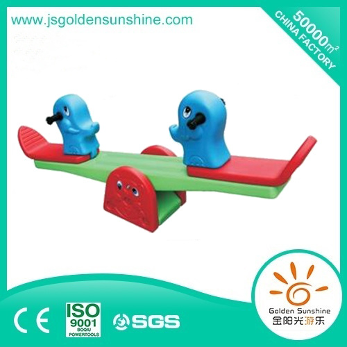 Indoor Playground Plastic Rockimg Horse Seesaw with Ce/ISO Certificate