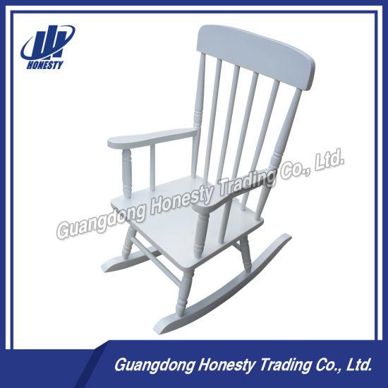 Ly001 Vintage Children Wood Rocking Chair