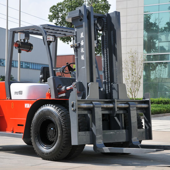 32 Tons Heavy Size Diesel Forklift Truck with Cnhtc Engine pictures & photos