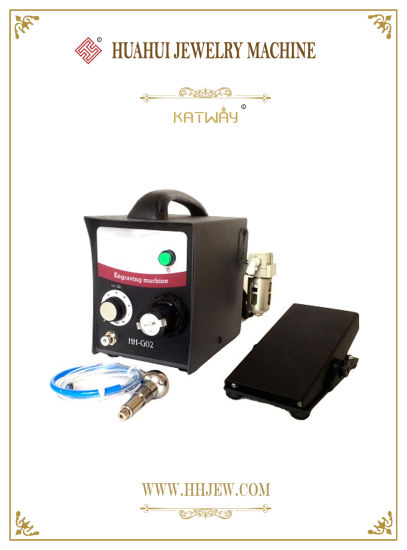 Jewelry Tools Jewelry Pneumatic Engraving Machine Metal Grs Engraving Machine 220V/110V One Handpieces 0-8000 Strokes, Jewelry Engraver