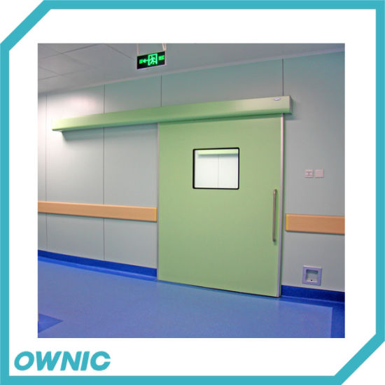 Automatic Hermetic Sliding Door with Dunker Motor for Hospital Ot Room