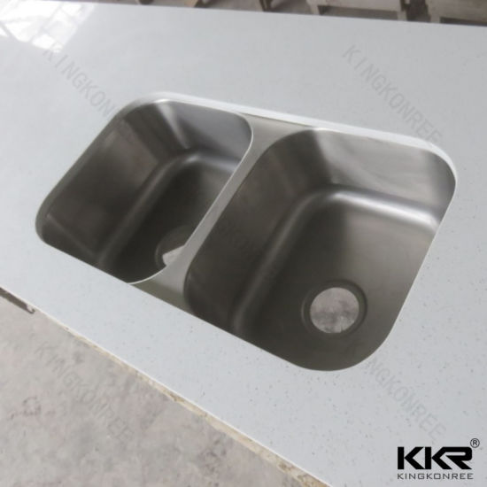 China Cast Stone Resin Solid Surface Kitchen Bench Top 180420