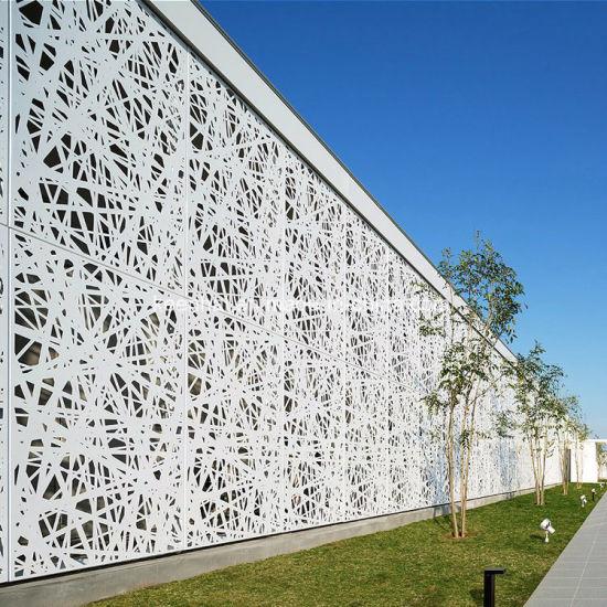 China Interior Decorative Metal Cladding Aluminum Wall Paneling ...