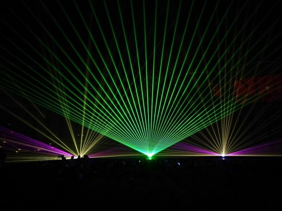 Indoor DJ Light for Party 3W Green Laser Stage Equipment