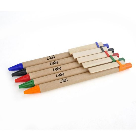 Eco-Friendly Recycled Paper Pen pictures & photos