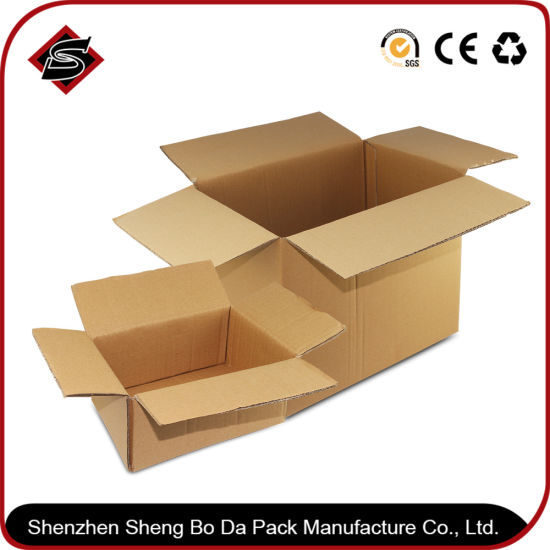 Customized Gift Packaging Corrugated Paper Carton Box pictures & photos