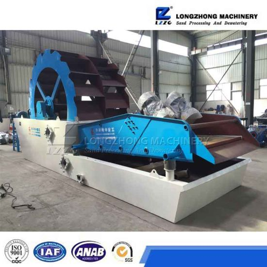 Exported Sand Washing Machine and Dewatering Equipment From Lzzg pictures & photos