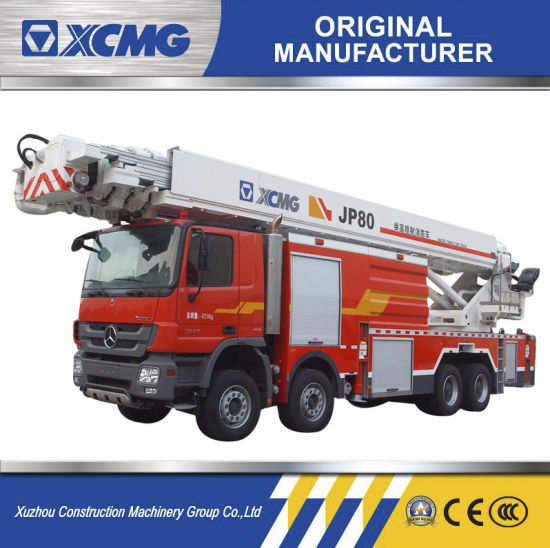 XCMG Official 80m Water Tower Fire Truck Jp80 for Sale pictures & photos