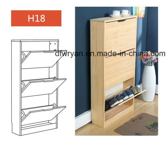 Customized Bedroom MDF Shoe Racks