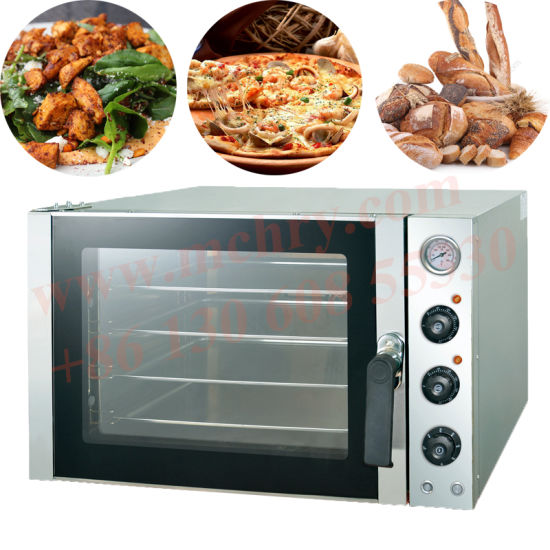 Bread Pastry Baking Machines Commercial Bakery Use 4 Trays Hot Air Convection Oven