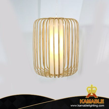 Chinese Style Bamboo Decoration Pendant Lamp (KJ049) pictures & photos