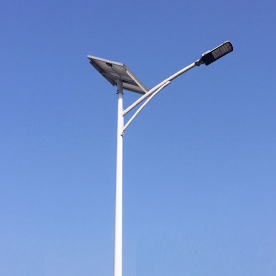 Commercial 30W-120W Fixture LED Outdoor Street Solar Lighting